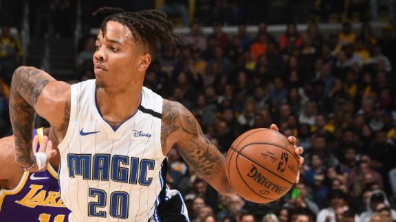 Fultz's triple-double leads Magic past Lakers