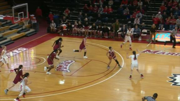 Rider hits buzzer-beater from three-quarters court