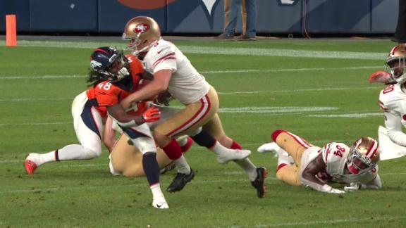 Flashback: 49ers' Wishnowsky lays out Broncos returner