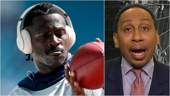Stephen A. expresses concern for Antonio Brown