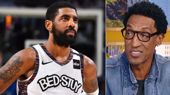 Pippen: Kyrie is struggling to be a leader