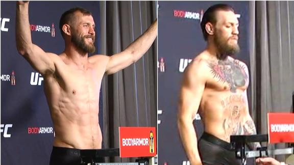 Cowboy, Conor make weight for UFC 246