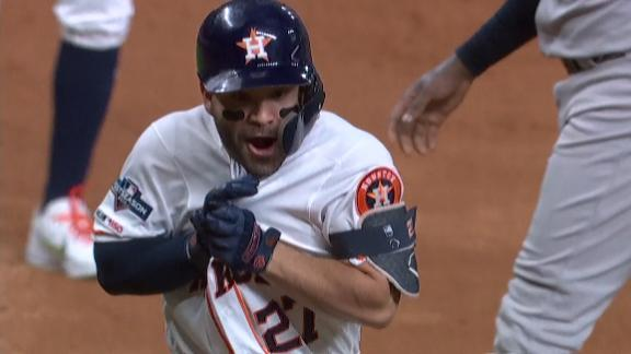 Flashback: Altuve protecting jersey on walk-off HR to send Astros to World Series