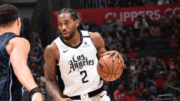 Kawhi drops 32 in win vs. Magic