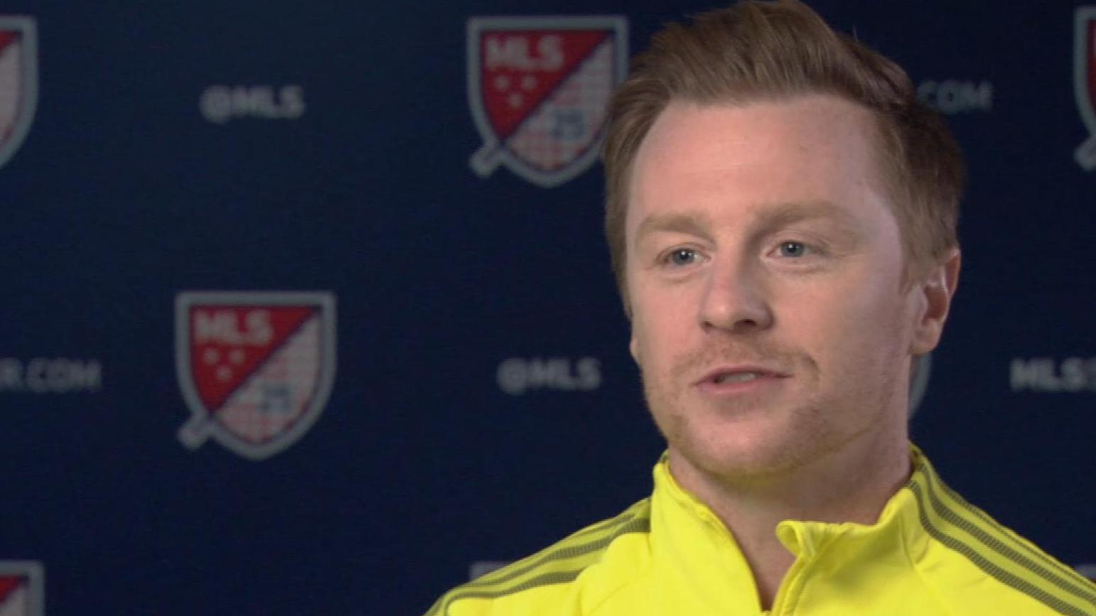 Dax McCarty jokes about playing to 'Tom Brady age'