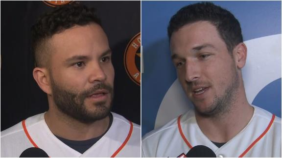 Altuve, Bregman mum on cheating allegations