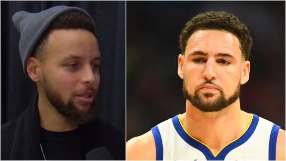 Steph: My career wouldn't be the same without Klay