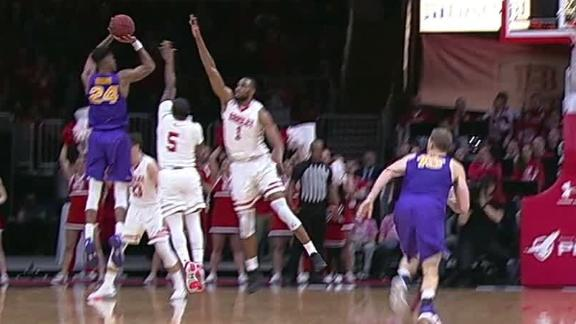 Brown knocks down tough 3 for Northern Iowa