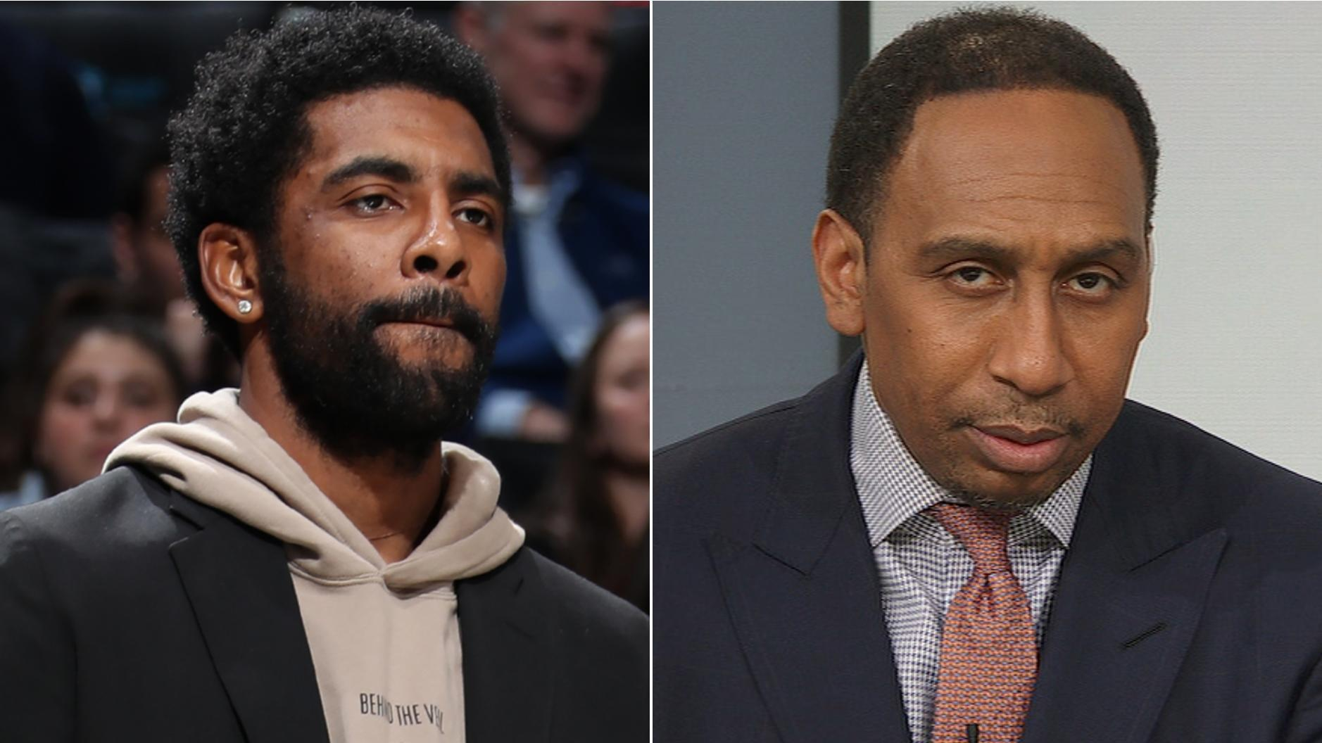 Stephen A. not happy with Kyrie Irving calling out Nets' needs