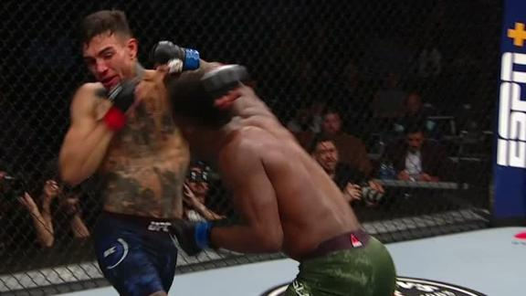 Fili and Yusuff exchange punches late in first round