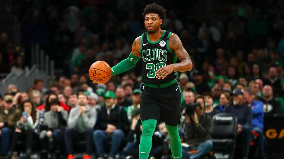 Smart drains a Celtics-record 11 3-pointers