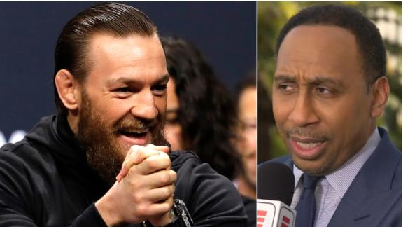 Stephen A. can see McGregor clipping Cerrone inside of 2 rounds