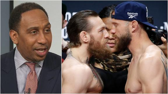 Stephen A.: Hard to say what to expect from McGregor-Cerrone