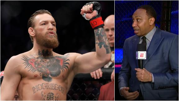 Stephen A.: Haven't learned anything about McGregor after this fight