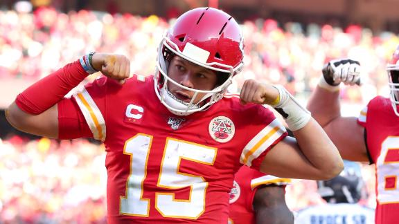 Mahomes leads Chiefs into the Super Bowl