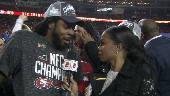 Sherman and his mom have a response for the critics