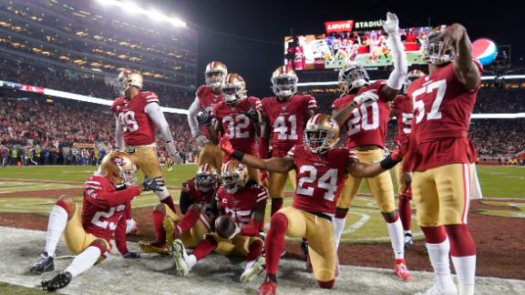 Sherman's INT seals 49ers' trip to the Super Bowl