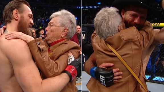Cerrone's grandmother steals the show