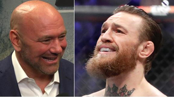 White compares a potential McGregor-Khabib 2 to Ali-Frazier