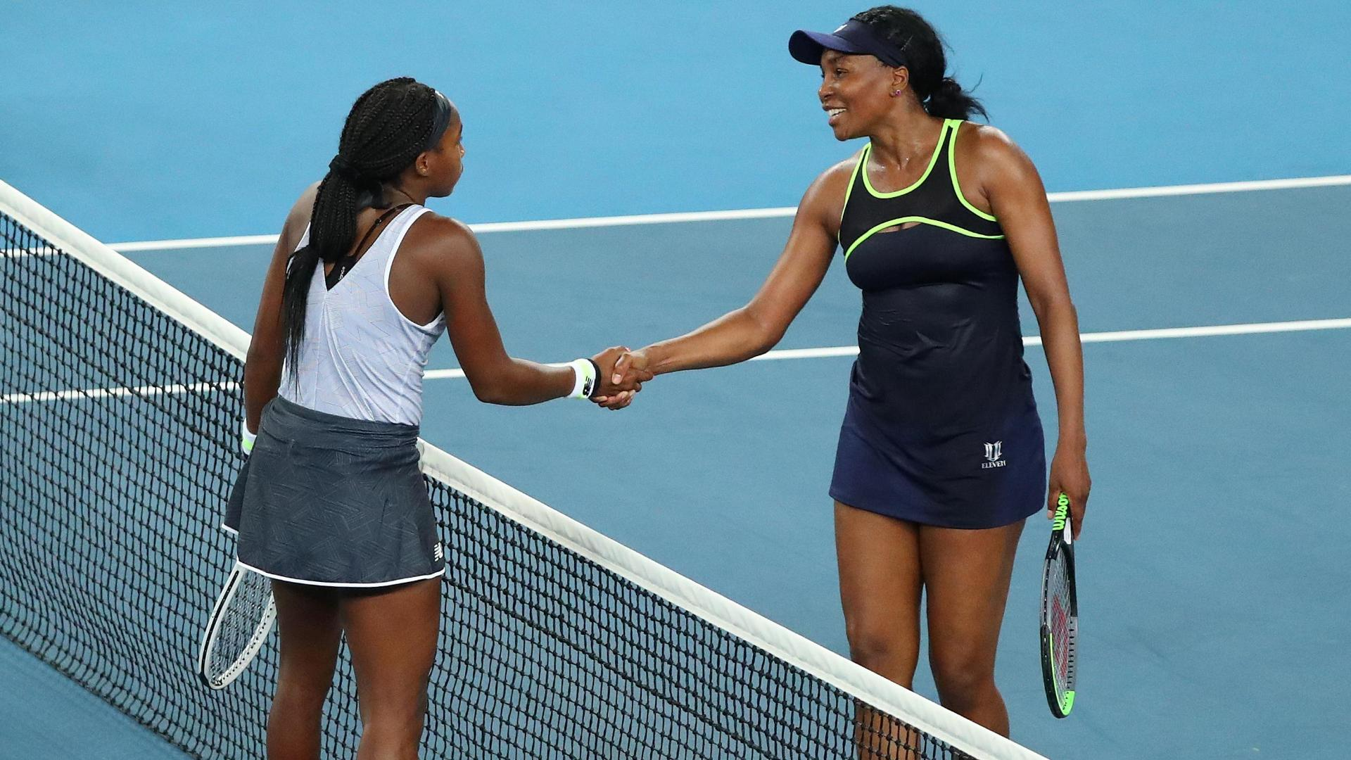 Coco tops Venus for first career win at Australian Open