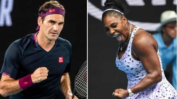 Federer, Osaka and Williams cruise on Day One