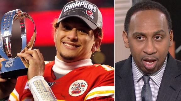 Stephen A. pumps brakes on Mahomes greatness talks