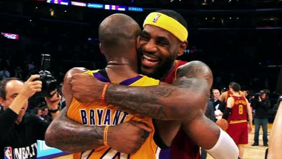 LeBron and Kobe's relationship, in their own words