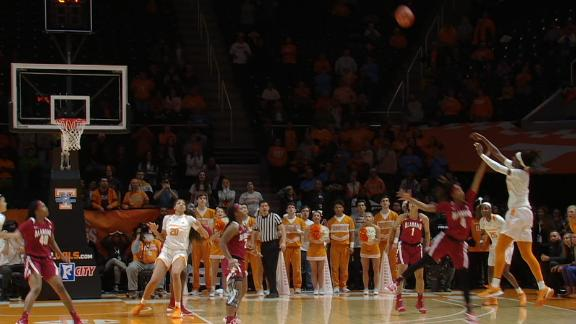 Davis' game-winning prayer hits nothing but net for Lady Vols