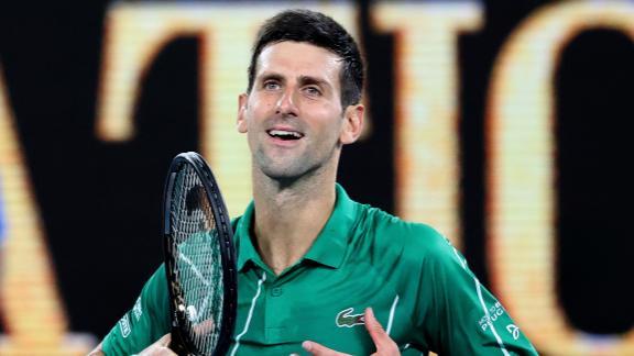 Djokovic finishes off Struff to advance at Australian Open
