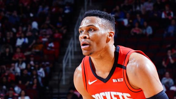 Westbrook's assist gives him a triple-double against every NBA team
