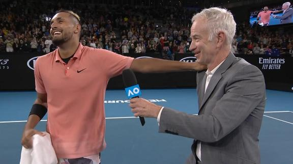 McEnroe pledges $1000 to bushfire relief for each Kyrgios set won