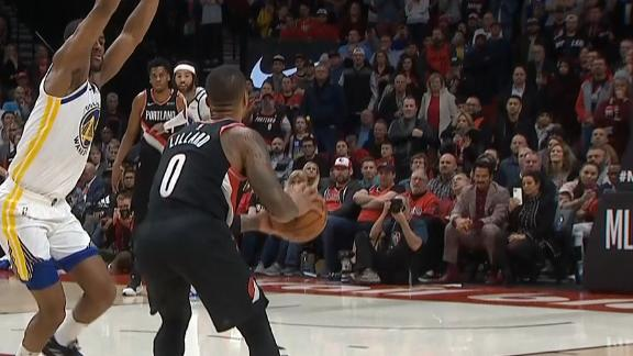 Lillard splashes cold-blooded, game-tying 3