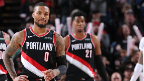 Dame erupts for 61 points to set MLK Day, Blazers' record