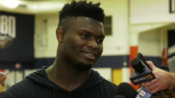 Zion: I might not sleep, too excited for first NBA game