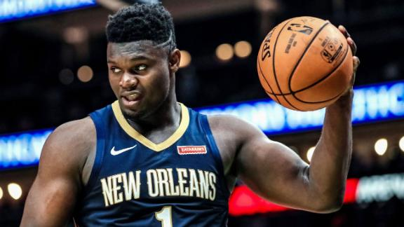 Zion ready to make long-awaited NBA debut