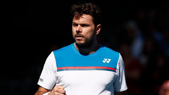 Wawrinka takes down Dzumhur in 4 sets