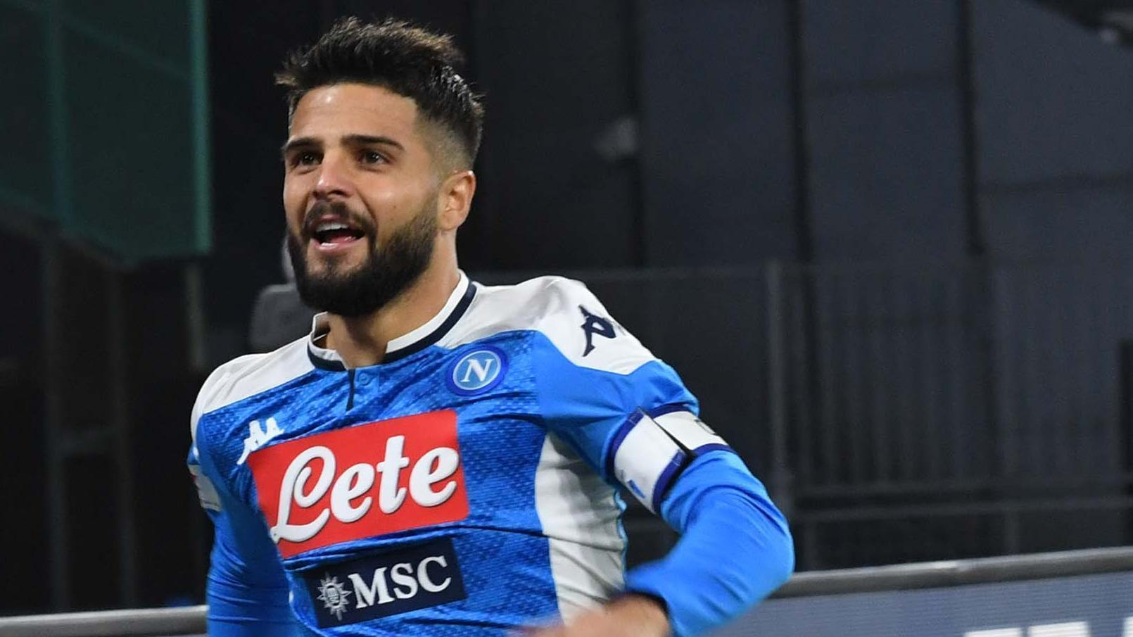 Insigne gives Napoli lead inside 2 minutes
