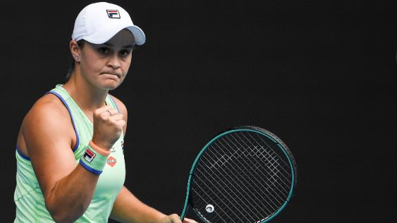 Barty continues to shine as Djokovic rolls on