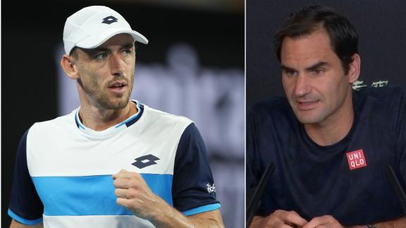 Federer wary of Australian Millman's challenge