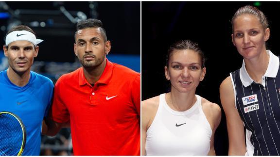 Day four preview: Nadal, Kyrgios, Halep and Plíšková
