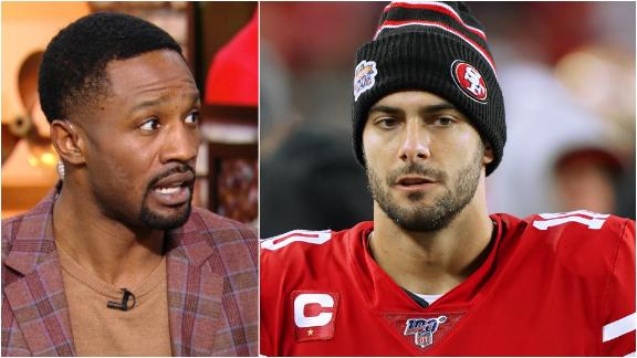 Foxworth, Clark don't trust Garoppolo in high-pressure situations