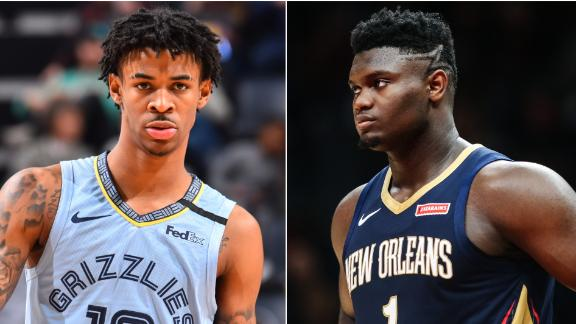 Stephen A.: Zion can snatch ROY from Morant