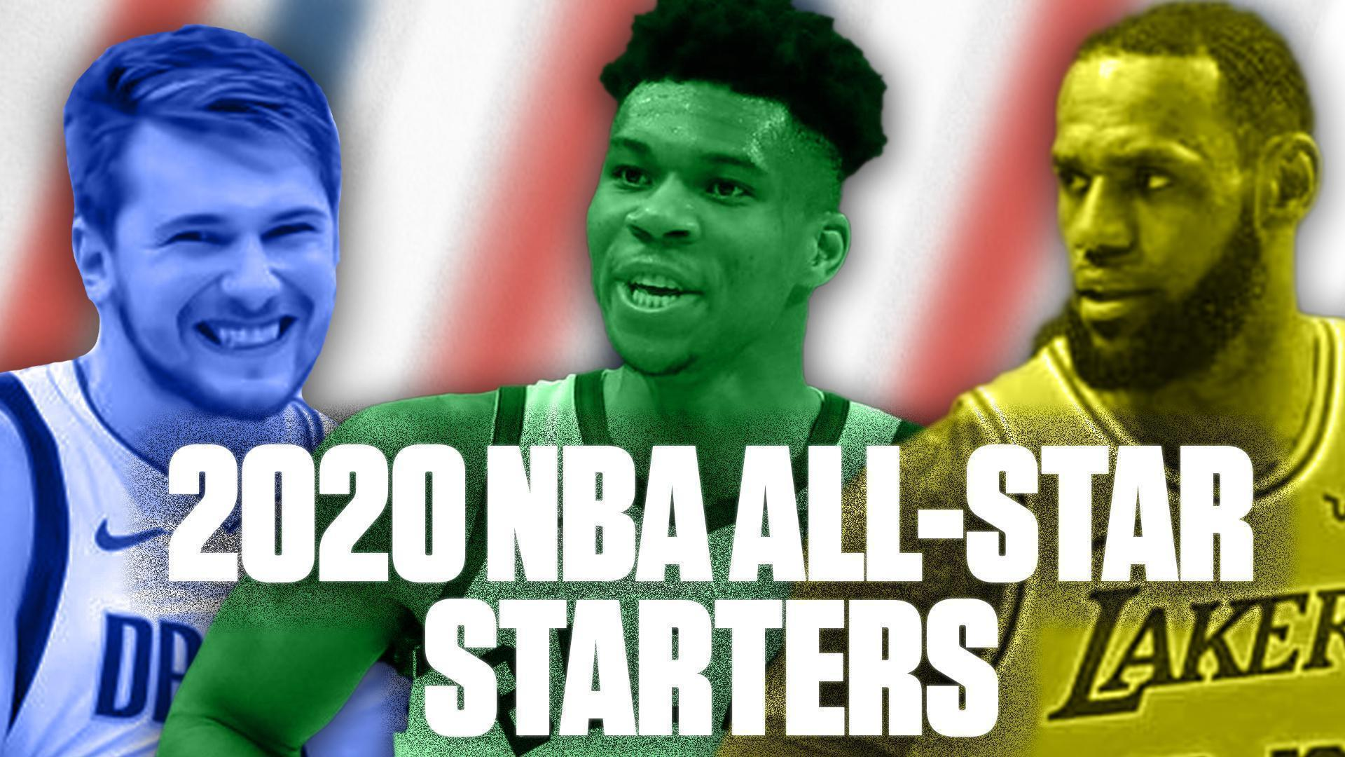 The NBA All-Star starters are ready for prime time in Chicago