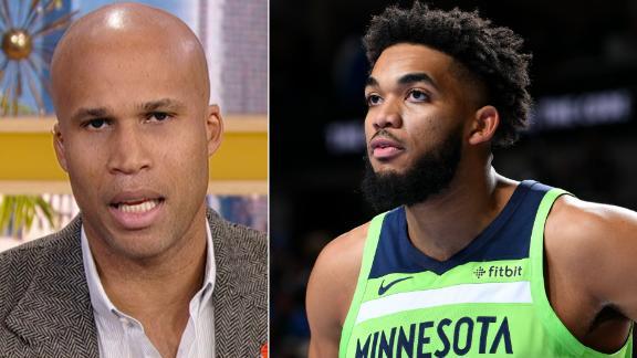Jefferson likens KAT's career path to Garnett's