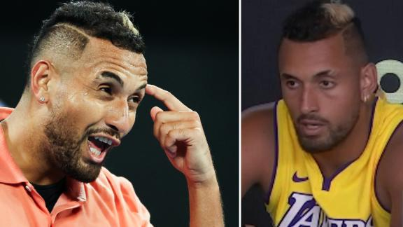 Kyrgios' profanity-laden press conference after Simon win