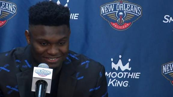 Zion: Debut was everything I dreamed of ... except for losing