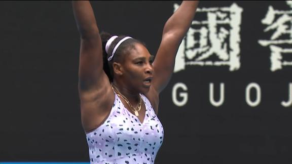 Serena fights back to take 2nd set