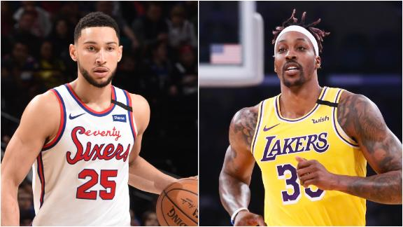 Legler: Simmons faces tough test against Lakers' bigs