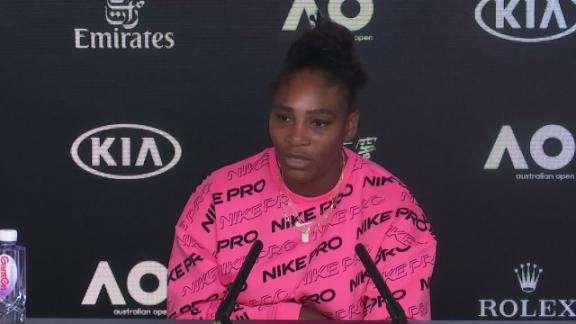 Serena: I wouldn't be playing if I didn't believe I could reach record