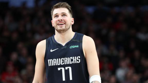 Luka drops 27 points, 9 assists in win over Trail Blazers